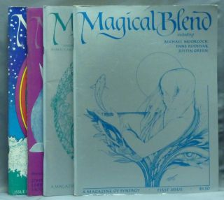 Magical Blend, A Magazine of Synergy - Spring, 1980; Summer, 1980; Autumn, 1980; Winter, 1981 ( Four Issues ). Magical Blend Magazine, Various contributors, Katherine ZUNIC, Michael Peter Langevin.