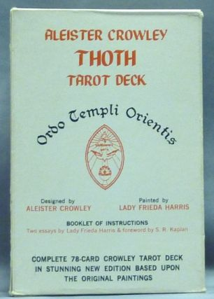 Aleister Crowley Thoth Tarot Deck. James Wasserman, Stuart R. Kaplan, Aleister CROWLEY, commentary.