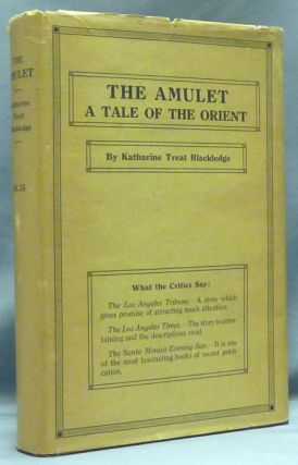 The Amulet. A Tale of the Orient. Occult Fiction, Katherine Treat BLACKLEDGE