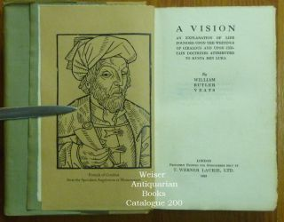 A Vision. An Explanation of Life Founded Upon the Writings of Giraldus and Upon Certain Doctrines Attributed to Kusta Ben Luka.