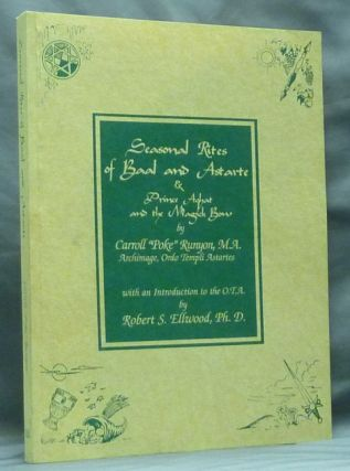"Seasonal Rites of Baal and Astarte & Prince Aghat and the Magick Bow. Carroll ""Poke"" RUNYON, signed"