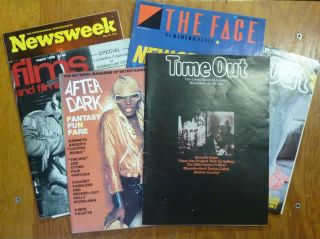 23 Mostly British Magazines and Newspapers - 1970s to 2000s - all of which have some material...
