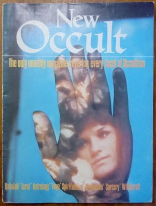 New Occult magazine, Volume 1, Number 3. Occult, Tony POTTER