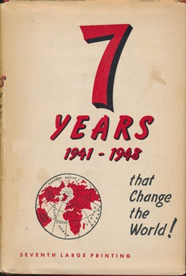 Seven Years that Change the World 1941--1948. Wing ANDERSON