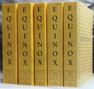 The Equinox; Volume I, Numbers I - X ( In 5 volumes ) [ Five volume set ]. Aleister CROWLEY