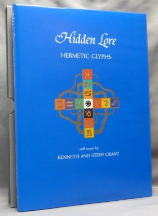 Hidden Lore. Hermetic Glyphs [ CARFAX MONOGRAPHS ]. Kenneth GRANT, Steffi, Aleister Crowley -...