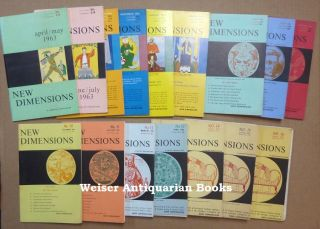 "A Complete Run of the (first Series) of ""New Dimensions"" magazine, Issues 1-16, 1963-65. Basil..."