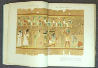 The Book of the Dead. The Papyrus of Ani ( Two volumes, Text and Plates ); in the British Museum. The Egyptian Text with Interlinear Transliteration and Translation, a Running Translation, Introduction, etc... AND The Book of the Dead. Facsimile of the Papyrus of Ani in the British Museum