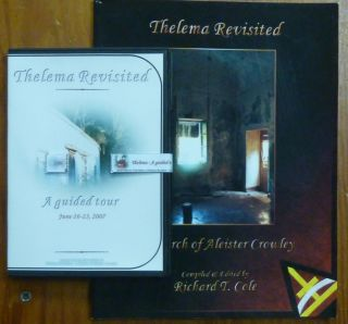 Thelema Revisited and A guided Tour ( Book and CD-ROM multi-media disc ). Richard T. COLE, CD, Charlie D'Cort., Aleister Crowley: related works.