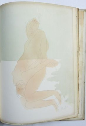 [ Rodin in Rime ] Seven Lithographs by Clot from the Water-Colours of Auguste Rodin, with a Chaplet of Verse by Aleister Crowley.