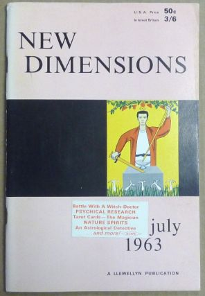 New Dimensions - June / July 1963. Vol. I, No. 2. Basil WILBY, And contributor. Essays etc. by...