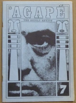 Agapé. The Occult Review. Volume 1, No. 7 [ Agapé. A Quarterly Occult Review ]. Aleister...