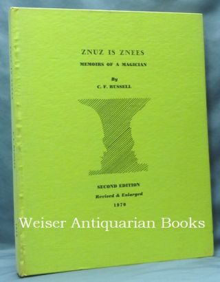 Znuz is Znees, Memoirs of a Magician [ 4 Volume Set ].