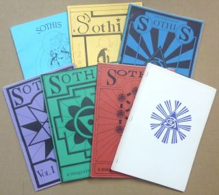 Sothis [ Liber MLXXX ] A Magazine of the New Aeon ( 7 Issues ); Volume I, no. I; Volume I, no....