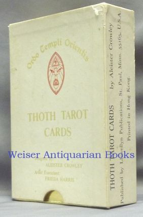 Thoth Tarot Cards. ( First Color Printing ) [ Aleister Crowley Tarot Deck ].