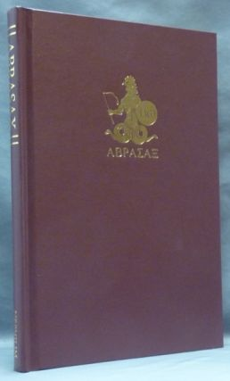 The Book of Abrasax. A Grimoire of the Hidden Gods.