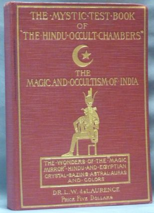 "The Mystic Test Book of ""The Hindu Occult Chambers"". The Magic and Occultism of India, Hindu and..."