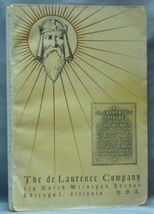 De Laurence's Catalog of Books on Occultism - Magic - Mysticism - Religion - the Cabala - Yoga -...
