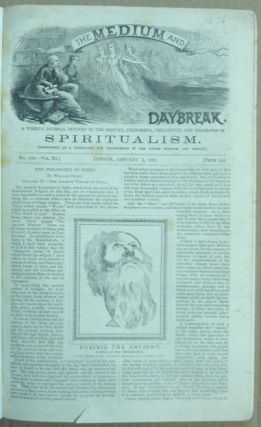 The Medium and Daybreak, A Weekly Journal Devoted to the History, Phenomena, Philosophy and Teachings of Spiritualism. Vo. XI No. 509 Jan 2, 1880 - 551 October 22, 1880 (42 consecutive issues).