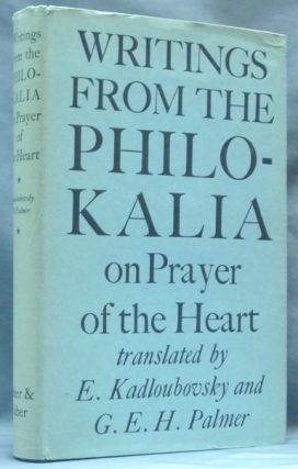Writings from the Philokalia: On Prayer of the Heart; Translated from the Russian Text...