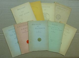 Collection of 9 Booklets ] Astro-chemical Analysis; Ancient America; The Mysteries of the Mayas; ...