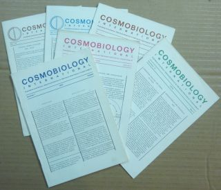 Cosmobiology International. (Six issues) Number 1, October, 1969; Number 2, January 1970; Number...