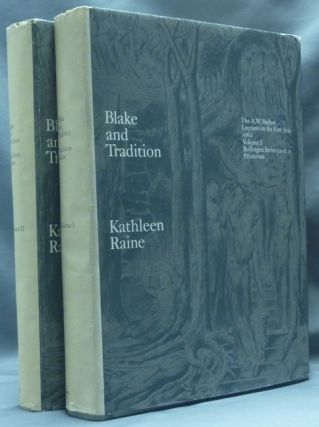Blake and Tradition. The A.W. Mellon Lectures in the Fine Arts. Bollingen Series XXXV: 11 (2 Volume Set).
