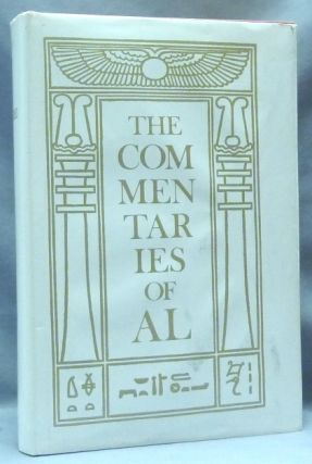 The Commentaries of AL Being the Equinox Volume V, No. 1. Aleister CROWLEY, and Marcelo Motta,...