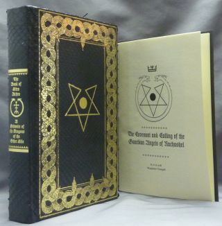 """The Book of Sitra Achra. A Grimoire of the Dragons of the Other Side; and """"The Calling of the Guardian Angel of Nachashel - The Treaty of the Serpentine Famulus"""" ( With talisman )"""