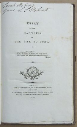 Essay on the Happiness of the Life to Come.