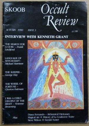 Skoob Occult Review. Issue No. 3, Autumn 1990. Occult, Christopher JOHNSON, Caroline Wise, Frank...