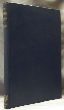 The Synoptic Gospels, Arranged in Parallel Columns. Synoptic Gospels, J. M. THOMPSON