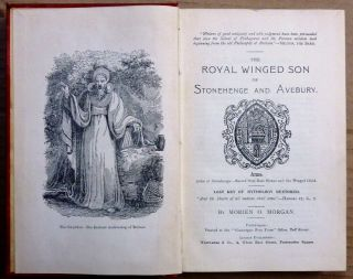 The Royal Winged Son of Stonehenge and Avebury ( Kimmerian Revelations - The Mabyn of the Mabynogion ).