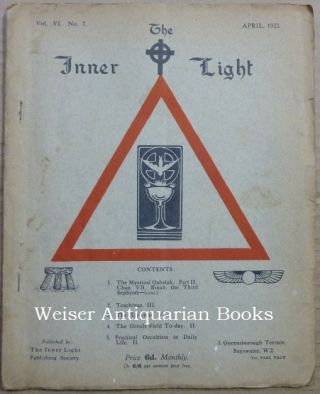 The Inner Light. Vol. VI. No. 7. April 1933. Edits, contributes to
