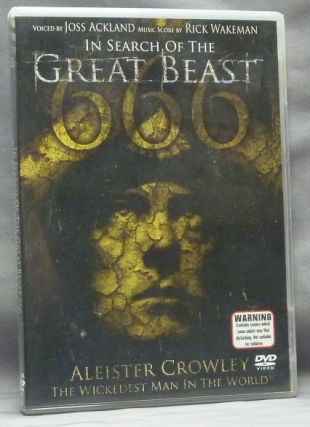 In Search of the Great Beast. Aleister Crowley the Wickedest Man in the World [ DVD in case,...