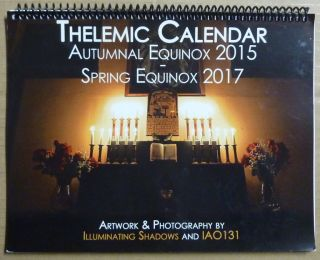 Thelemic Calendar (Autumn 2015 - Spring 2017). Illuminating Shadows, Aleister Crowley related