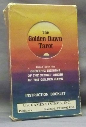 Golden Dawn Tarot Deck ( Deck & booklet, boxed set ); Based upon the Esoteric Designs of the...