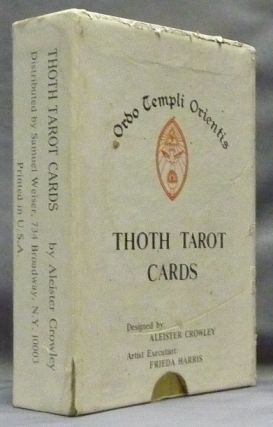 Thoth Tarot Cards [ Tarot Deck ]. Aleister CROWLEY, Frieda Harris