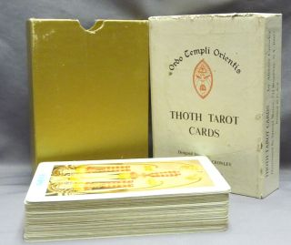 Thoth Tarot Cards [ Tarot Deck ].
