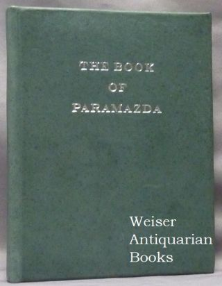 The Book of Paramazda. ANONYMOUS
