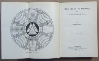The Book of Destiny and the Art of Reading Therein.