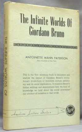 The Infinite Worlds of Giordano Bruno; Bannerstone Division of American Lectures in Philosophy....