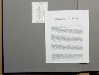 A Book of Automatic Drawing [ A Book of Automatic Drawings ] PLUS A Folio Containing Four Loose Prints on Handmade Paper from the Same Work.