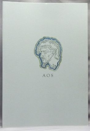 A.O.S., A Celebration. London 14th May, 2006 ( AOS A Celebration ). Austin Osman SPARE, Michael...