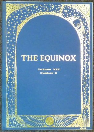The Equinox / The British Journal of Thelema : Volume VII, No. 6. Jake STRATTON-KENT, Trevor...