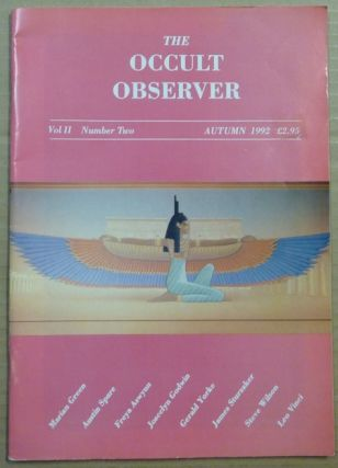 The Occult Observer, Volume II, No. Two. Autumn 1992. Occult, Carolyn - WISE, Steve Wilson...