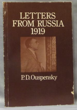 Letters from Russia 1919. P. D. OUSPENSKY