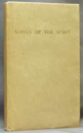 Songs of the Spirit. Aleister CROWLEY, Signed