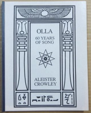 Olla. 60 Years of Song. Aleister CROWLEY