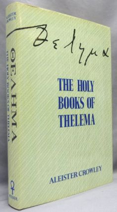 The Holy Books of Thelema. With a., 777 Hymenaeus Alpha, Grady Louis McMurtry